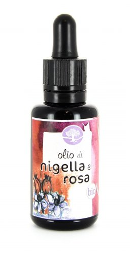 Olio di Nigella e Rosa Bio