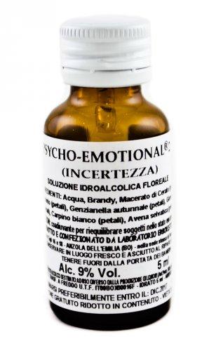 Psycho Emotional 2 - Incertezza - Soluzione idroalcolica floreale