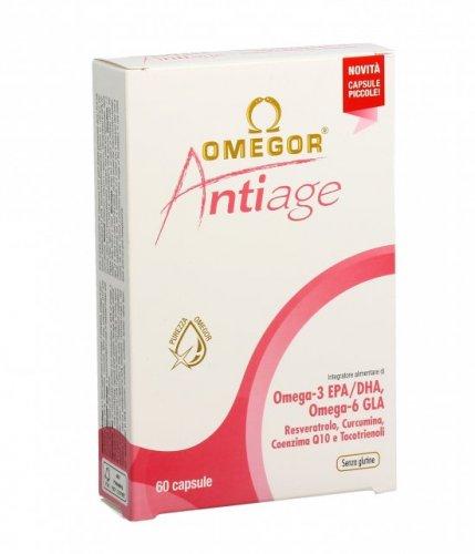 Omegor - AntiAge - Contrasto dell'Invecchiamento Precoce