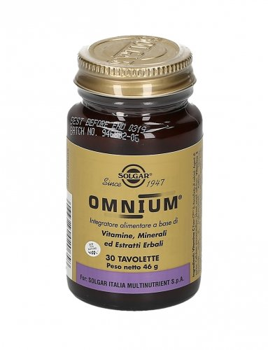 Omnium - Integratore Multivitaminico e Multiminerale