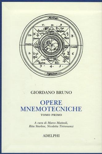 Opere Mnemotecniche - Tomo Primo