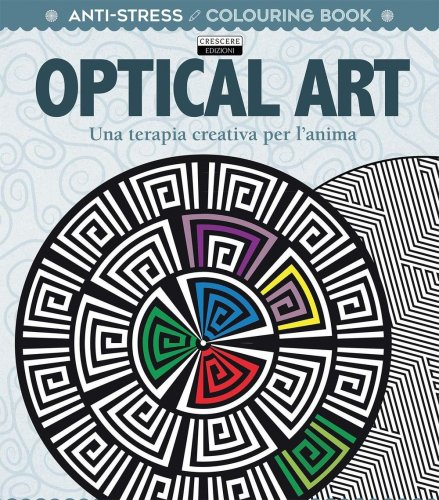 Colouring Book - Antistress - Optical Art