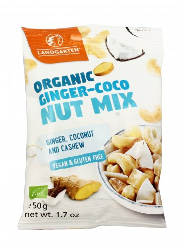 Mix Frutta Secca e Zenzero - Organic Ginger Coconut Mix