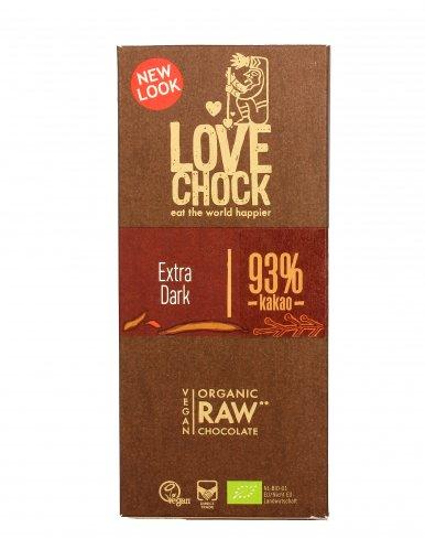 Cioccolato Fondente Bio con 93% di Cacao