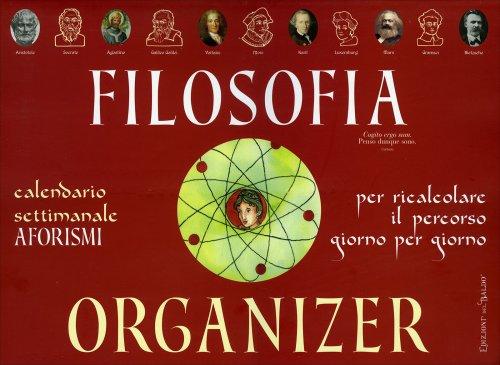 Filosofia Organizer Calendario Settimanale - Aforismi