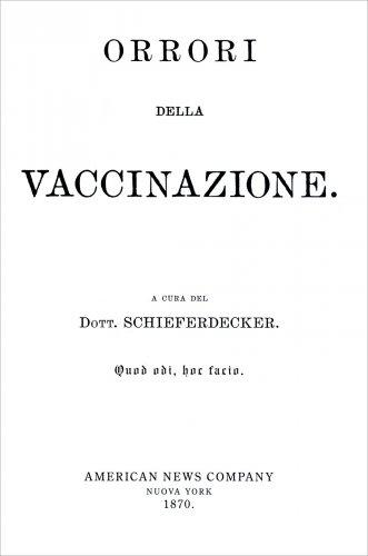 Orrori della Vaccinazione