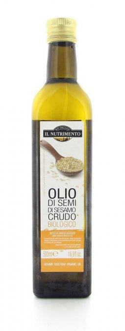 olio di semi di sesamo crudo biologico clicca per ingrandire