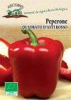 Semi di Peperone Quadrato d'Asti Rosso - 1 Gr