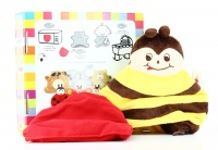 Cuscino Peluche Riscaldabile - Cherry Belly - Ape Ape