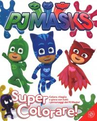 Pj Masks - Super Colorare