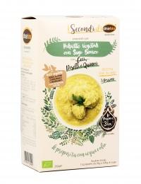 Polpette Vegetali Bio con Sugo Bianco
