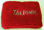 Polsino Elasticizzato Takionic - Colore Rosso
