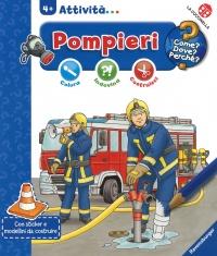 I Pompieri - Colora, Indovina, Costruisci