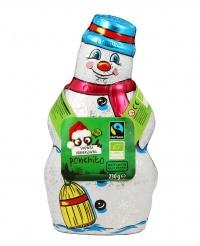 Pupazzo di Neve al Cioccolato - Ponchito