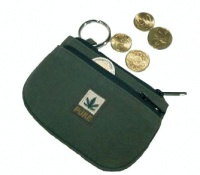 Portamonete Khaki con Cerniera - Mod. HF062