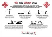 Poster Cinque Tibetani - The Five Tibetan Rites