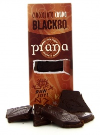 PranaCiok - Cioccolato Crudo - Black 80%