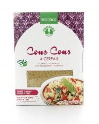 Cous Cous 4 Cereali Biologico