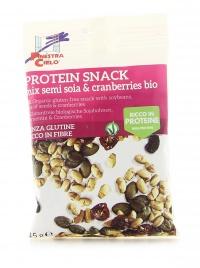 Mix di Semi Soia e Cranberries Bio - Protein Snack