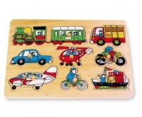 Puzzle ad Incastro Traffico