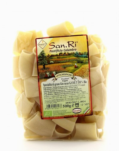 Paccheri Rigati KAMUT® - grano khorasan Bianco
