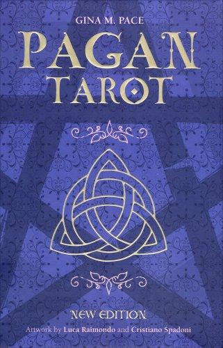 Pagan Tarot con Libro e Carte (in Lingua Inglese)