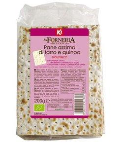 Pane Azzimo di Farro e Quinoa