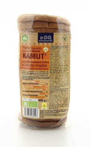 Pane Bauletto KAMUT® - grano khorasan Bio con Olio Extravergine d'Oliva e Lievito Madre