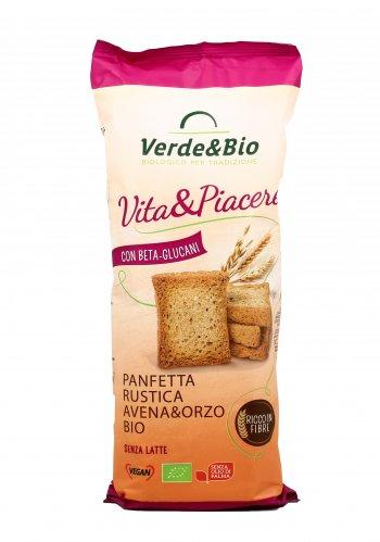 Panfette Rustiche Avena&Orzo Bio