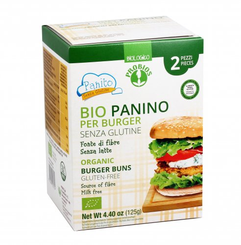 Bio Panino Per Burger - Senza Glutine