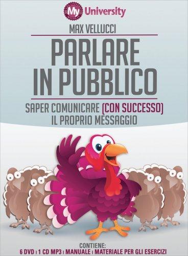 Parlare in Pubblico - Corso Completo 5 DVD, 1 CD Mp3 e Manuale