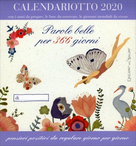 Calendario 2019 - Parole Belle per 365 Giorni