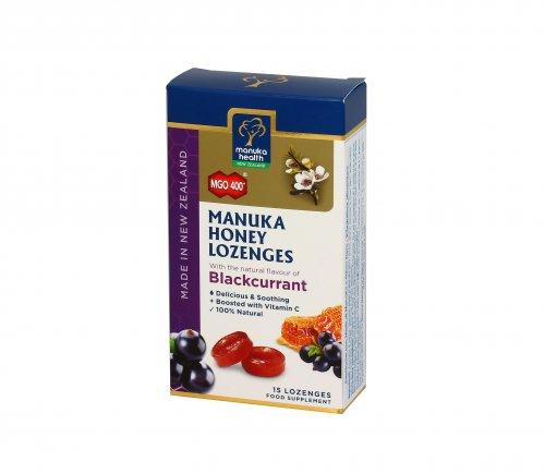 Caramelle con Miele di Manuka MGO™400+ e Ribes Nero