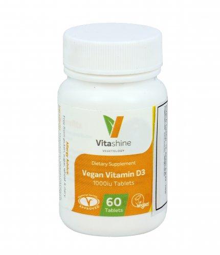 Vegan Vitamin D3 1000 Ui