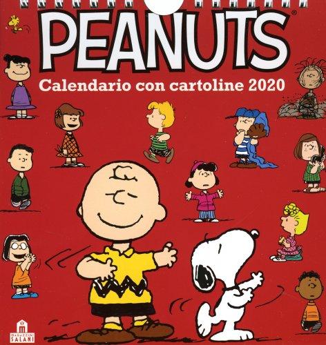 Peanuts - Calendario da Tavolo con Cartoline 2020