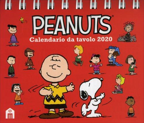Peanuts - Calendario da Tavolo 2020