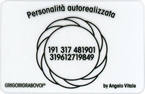 Tessera Radionica - Personalità Autorealizzata