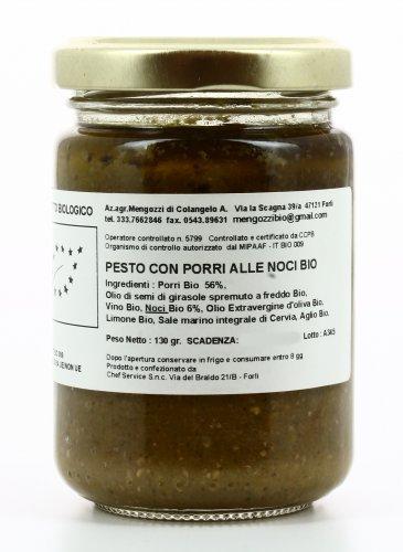 Pesto con Porri alle Noci Bio