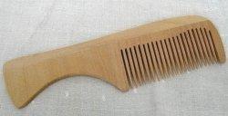 Pettine in Legno a Denti Stretti