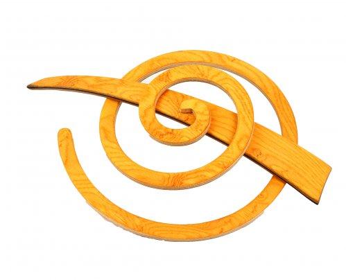 Fermaglio a Spirale per Capelli