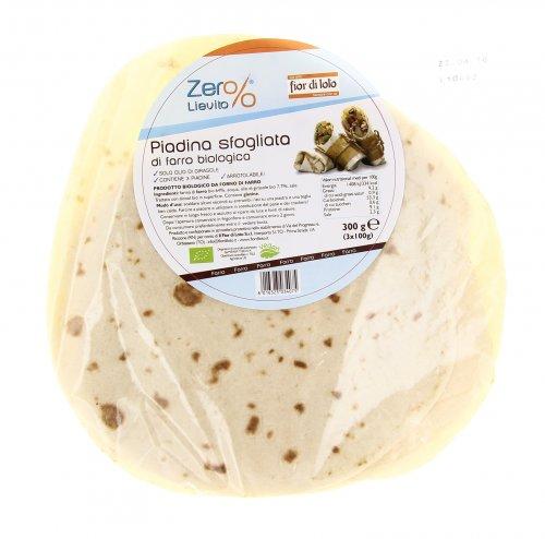 Zero Lievito - Piadina Sfogliata di Farro Bio