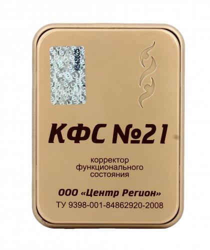 Piastra di Kolzov - N. 21 - Purificazione Catene e Fatture e Ricarica - Serie Gold