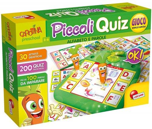 Piccoli Quiz - Alfabeto e Parole Carotina