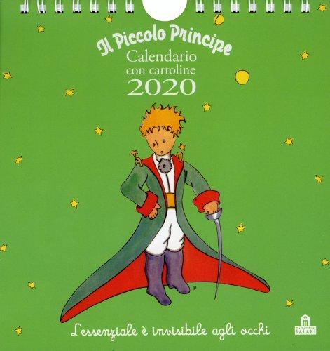 Il Piccolo Principe - Calendario da Tavolo con Cartoline 2019