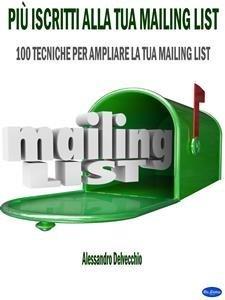 Più Iscritti alla Tua Mailing List (eBook)