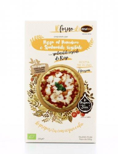 Pizza al Pomodoro e Spalmabile Vegetale di Riso