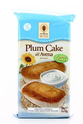 Plumcake all'Avena Bio