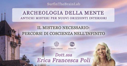 """Serata """"Archeologia della mente""""  con Erica F. Poli – Giovedì 9 dicembre 2021"""