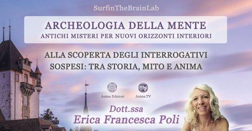 """Serata """"Archeologia della mente""""  con Erica F. Poli – Giovedì 11 novembre 2021"""