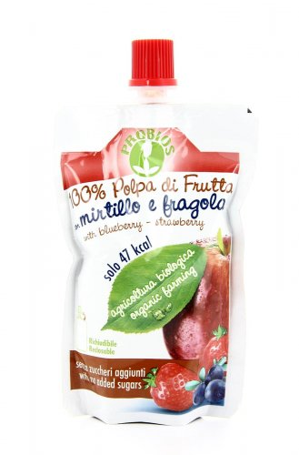 Polpa di Frutta con Mirtillo e Fragola